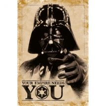 Star Wars - Your Empire Needs You Maxi Poster