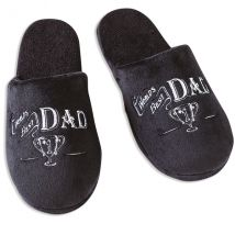 Ultimate Gift for Man Slippers Large UK Size 11-12 Dad