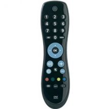 One For All Universal Remote Control Black