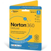 Norton 360 Deluxe Windows/Mac/Android/iOS, 50Gb Cloud Storage - 3 Devices - 1 Year