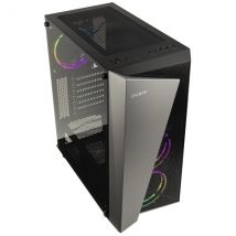 Zalman S4 Plus RGB Mid-Tower - Black Window