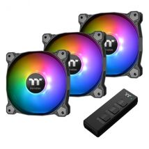 Thermaltake Pure 14 ARGB Sync Radiator Fan TT Premium Edition 3 Fan Pack with ARGB Controller