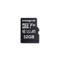 Integral UltimaPro - Memory Card 32 GB microSDHC/XC 100MB/s Class 10 UHS-I U1/ V10 + Adapter