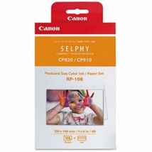 Canon RP-108IN Ink/Paper for Selphy CP1000 Printer 4 x 6 Postcard Size x 108