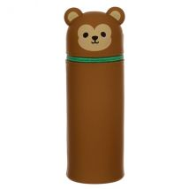 Cutiemals Monkey Silicone Upright Pencil Case