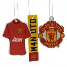 Manchester United FC (3 Pack) Air Freshener