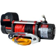 Warrior Winches Warrior Samurai 4500kg 12V DC Synthetic Rope Winch