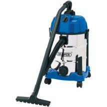 Draper Draper WDV30SSB 30L Wet and Dry Cleaner (1600W)