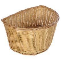 Oxford Oxford D Shape Wicker Cane Basket (16'')