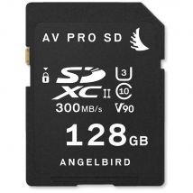 Angelbird 128GB AV Pro UHS-II V90 SDXC Memory Card