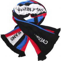 Calvin Klein J Punk Stripe scarf black striped
