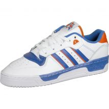 adidas Rivalry Low Sneaker weiß blau orange Gr. 42,0