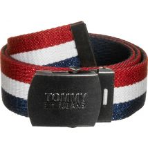 Tommy Jeans Women's belt red white blue, 80