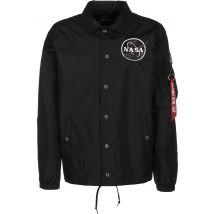 Alpha Industries NASA Men's Coach jacket black, M