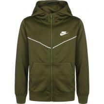 Nike Nsw Repeat Boys' kids hooded zipper olive, L