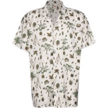 Levi's Cubano Shirt Men's short-sleeved shirt white, XL