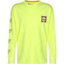 Timberland YC Graphic Men's longsleeve yellow neon, S
