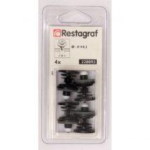 AGRAFES RESTAGRAF 228093 X4