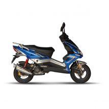 Scooter 50 cc Eurocka Matador Bleu