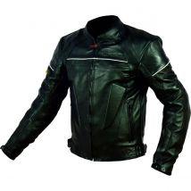 Blouson cuir moto noir Street Rider-Tec Taille XL