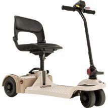 Scooter électrique mobilité réduite/ PMR FS777 Flexy beige-café Shoprider