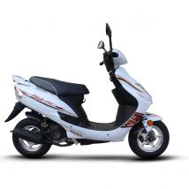 Scooter thermique 50 cm³ 4T Euro 4 CKA GTR50 blanc brillant Eurocka