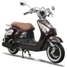 Scooter thermique 50 cm³ 4T Euro 4 CKA Fifty marron brillant Eurocka