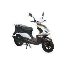 Scooter thermique 50 cm³ 4T Euro 4 CKA R8 noir/ blanc brillant Eurocka