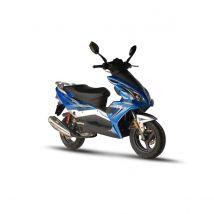 Scooter thermique 50 cm³ 4T Euro 4 CKA Matador bleu brillant Eurocka