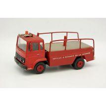 Norev Plastique 1/43 - Renault Saviem Pompiers Gironde