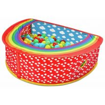 Chad Valley Baby 2-in-1 Play Gym and Ball Pit