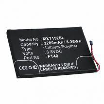 Batterie pour Motorola FT40 2200mAh