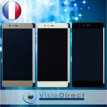 Écran complet pour Huawei P9 Lite blanc/noir/or vitre tactile + écran LCD +verre