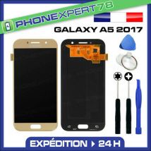 VITRE TACTILE + ECRAN LCD ORIGINAL SAMSUNG GALAXY A5 OR GOLD 2017 A520 + OUTIL