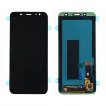 VITRE TACTILE + ECRAN LCD ORIGINAL SAMSUNG GALAXY J6 NOIR J600 + OUTILS