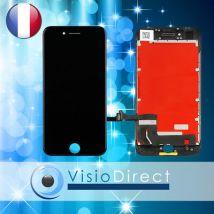 Ecran complet pour iPhone 8 noir vitre tactile + ecran LCD sur chassis