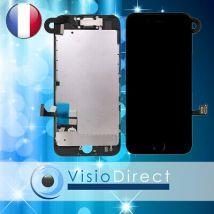 Ecran complet avec nappe camera et bouton home téléphone portable iPhone 7 NOIR