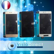 """Ecran complet pour Huawei Y6 2017 5"""" blanc noir or doré vitre tactile +LCD+verre"""