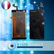"""Ecran complet pour Wiko Freddy 5"""" noir vitre tactile + LCD"""