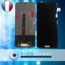 """Ecran complet pour Huawei P20 noir 5.8"""" vitre tactile + LCD + kit outils"""
