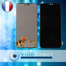 """Ecran complet LCD + vitre tactile pour OnePlus 6 6.28""""  NOIR"""