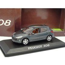 Norev 1/43 - Peugeot 308 5 portes Anthracite