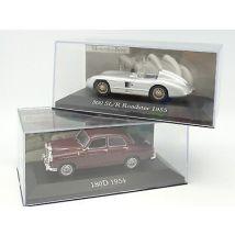Ixo Presse 1/43 - Lot de 2 Mercedes 180 D et 300 SLR