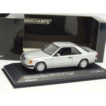 Minichamps 1/43 - Mercedes W124 300 CE 24 Coupé Silver