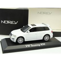 Norev 1/43 - VW Touareg R50 Blanche