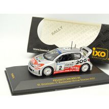 Ixo 1/43 - Peugeot 206 WRC Rallye Suède 2002 Winner Gronholm