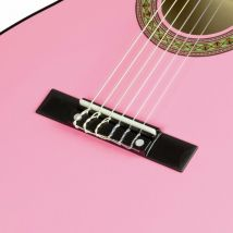 Music Alley MA-34-PK Half Size Classical Guitar - Pink