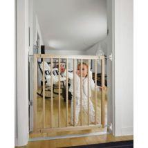BabyDan Narrow 2 Way Opening Double Lock Beechwood Safety Gate.