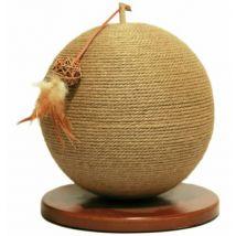 Rosewood Sphere Scratcher - Brown