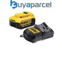 Dewalt DCB182 4.0ah 18v XR Lithium Ion Batterie LI-ION avec DCB105 Chargeur